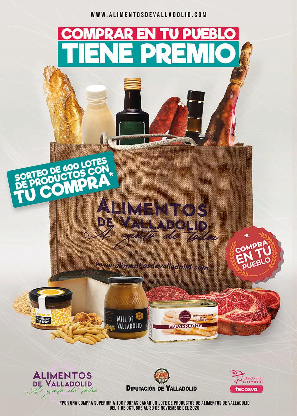 Cartel Alimentos de Valladolid